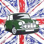 British Mini 01 Painting by Richard Yeomans