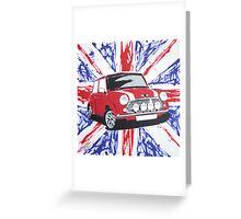 British Mini 02 Painting Greeting Card