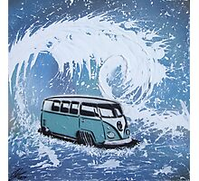 Splitty Wave 01 Painting Photographic Print