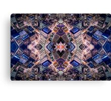 Vertigo - Topaz Discombobulation Canvas Print