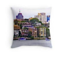 Kirribilli and North Sydney Throw Pillow