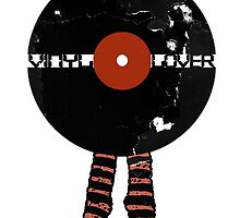 Funny Vinyl Records Lover - Grunge Vinyl Record Notebooks and more by ddtk