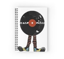 Funny Vinyl Records Lover - Grunge Vinyl Record Notebooks and more Spiral Notebook