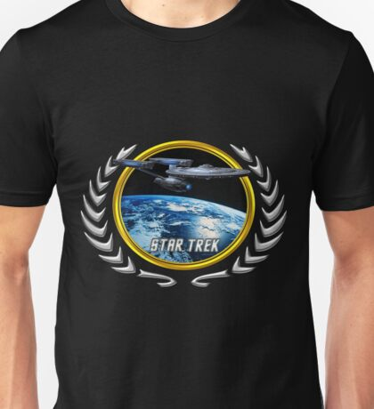 Star trek Federation of Planets Enterprise Refit Unisex T-Shirt