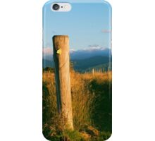 Outback mountain and vineyard in the Scenic Rim, Queensland. iPhone Case/Skin