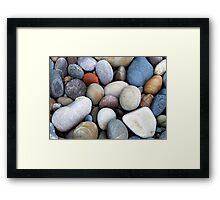 Rock Colour Framed Print