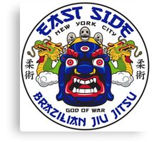 ESBJJ East Side Brazilian Jiu Jitsu Canvas Print