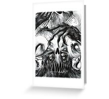 Yeg the Abominable  Greeting Card