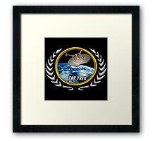 Star trek Federation of Planets Enterprise NX01 Framed Print
