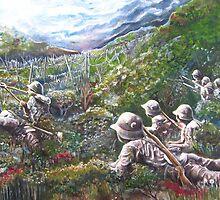A World at War by Mandolin-Crow