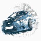 Rally car by arreda