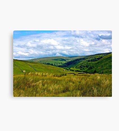 How Green is My Valley Canvas Print