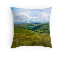 How Green is My Valley Throw Pillow