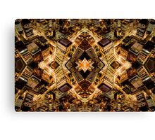 Vertigo - Golden Discombobulation Canvas Print
