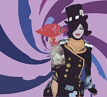 Moxxi Cutout Design by crazycowboy557
