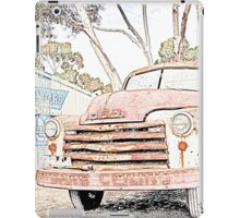 Old Truck at the Garage iPad Case/Skin