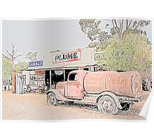 Heritage Garage and Tanker Poster