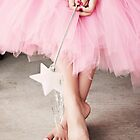 Ballerina Toes- Little Girl in a Pink Tutu by sunrisern