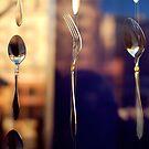 spoon and fork by Iuliia Dumnova