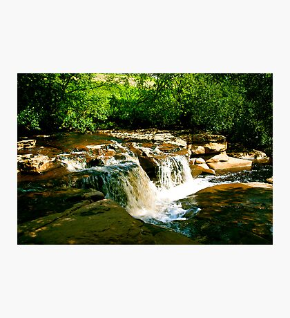 Sunlit Falls Photographic Print