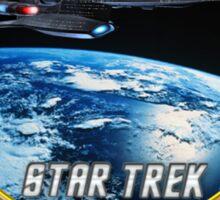 Star trek Federation of Planets Enterprise Galaxy Class Dreadnought Sticker