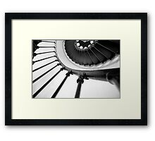 A Turning Point Framed Print