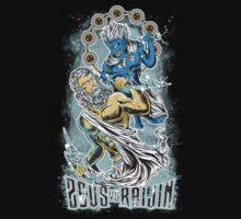 Zeus vs Raijin by treecore