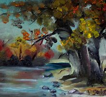 By The Pond by Patricia Seitz