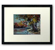 By The Pond Framed Print