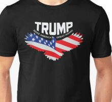 Donald Trump 2016 Eagle Flag (light) Unisex T-Shirt