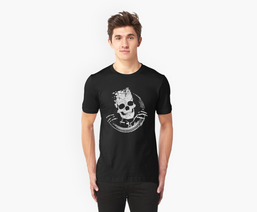 Grunge Skeleton Funny Design by Denis Marsili - DDTK