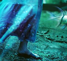 flying fish and a skirt by Iuliia Dumnova