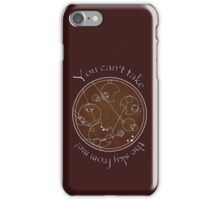 """You can't take the sky from me!"" in Gallifreyan iPhone Case/Skin"