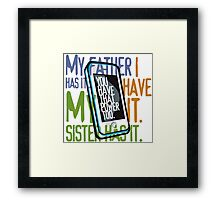Do You have it? Framed Print