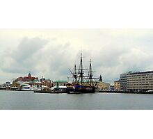 "The East Indiaman ""Götheborg"" in Gothenburg Harbour Photographic Print"