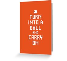 Keep Calm and Carry on Gaming1 Greeting Card