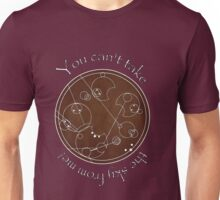 """You can't take the sky from me!"" in Gallifreyan Unisex T-Shirt"