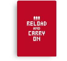 Keep Calm and Carry on Gaming4 Canvas Print