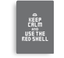 Keep Calm and Carry on Gaming6 Canvas Print