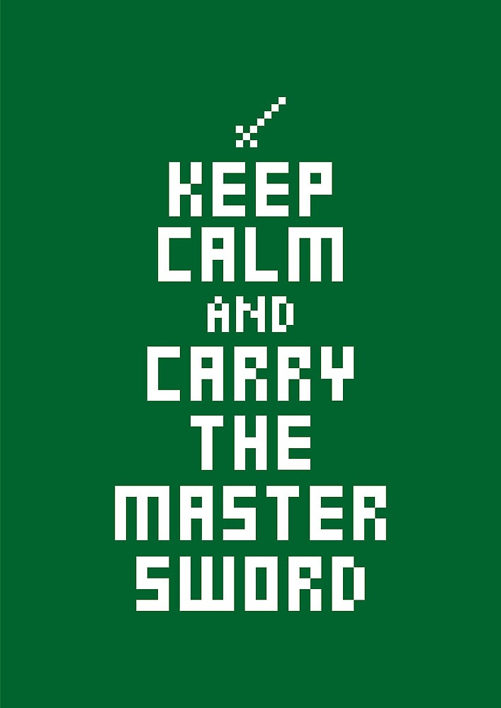 Keep Calm and Carry on Gaming7 by SevenHundred