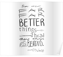 Far, Far Better Things - BW Poster