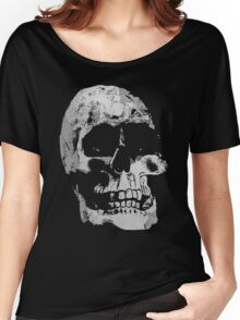 Grunge Cool Skull Women's Relaxed Fit T-Shirt