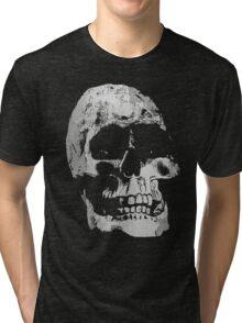 Grunge Cool Skull Tri-blend T-Shirt