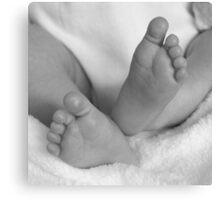 Baby Feet II Canvas Print