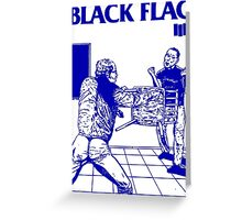 Black Flag - Nervous Breakdown Greeting Card