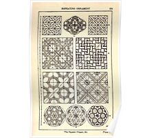 A Handbook Of Ornament With Three Hundred Plates Franz Sales Meyer 1896 0295 Repeating Ornament Square Diaper Poster