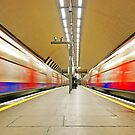 London Underground Mirror - Clapham underground station by DavidGutierrez
