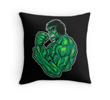 Manga Meanie Throw Pillow
