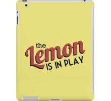 [CP] - The Travelling Lemon iPad Case/Skin