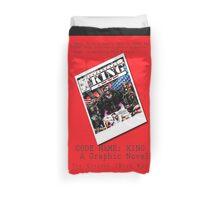 """Code Name: King""  - ALTERNATE Comic Book Promo Poster  Duvet Cover"